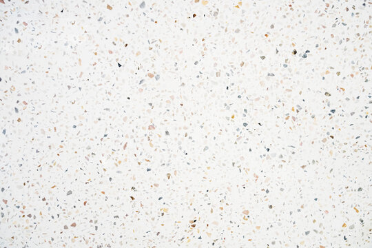 surface of terrazzo floor texture abstract background , top view