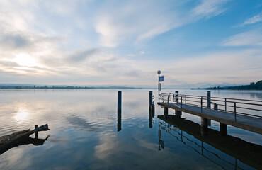Schiffsteg Fällanden am Greifensee