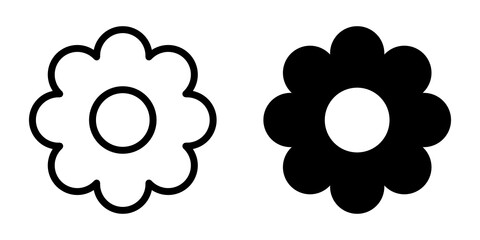 kwiat ikona