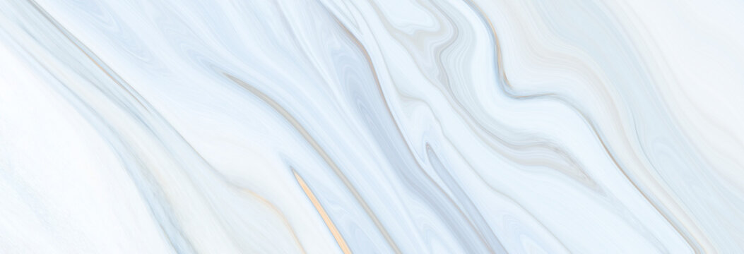 Marble rock texture blue ink pattern liquid swirl paint white dark that is Illustration panorama background for do ceramic counter tile silver gray that is abstract waves skin wall luxurious art ideas
