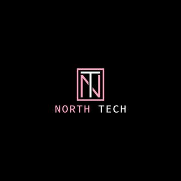 NT letter photography signature Clothing Clothing Brand Minimal urban Fashion brand Luxury Modern Clothing Brand Logo