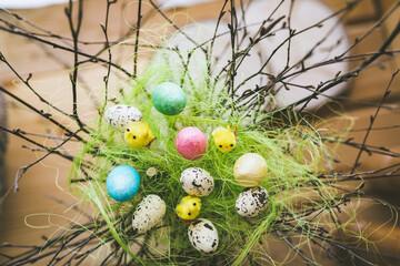 Pisanki wielakanocne, kolorowe jaja wielkanocne