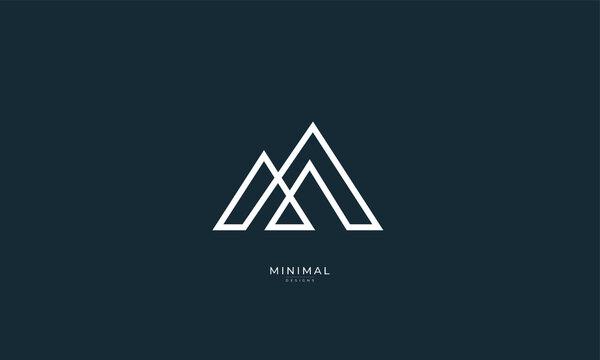 A line art icon logo of a mountain/peak/summit