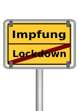 Impfung Versus Lockdown
