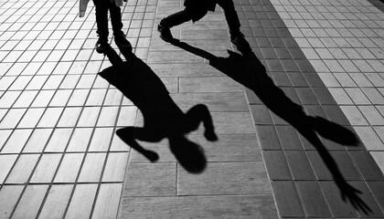 Fototapeta Silhouette of Childs  obraz