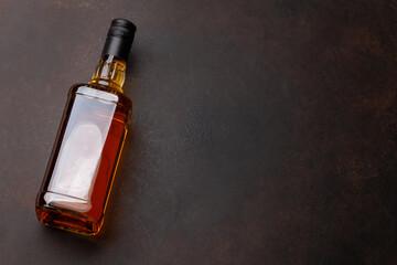 Scotch whiskey bottle