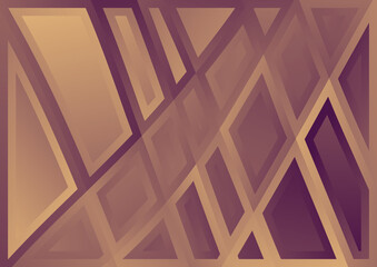 Purple and Brown Geometric Background Wall mural
