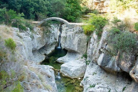 Pont Romain, Bugarach, Aude, Occitanie