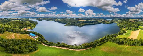 Fototapeta Kaszuby-jezioro Brodno Wielkie