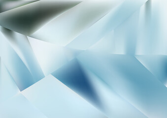 Abstract Geometric Blue and White Background Vector Image Wall mural