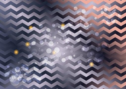 Purple and Brown Gradient Zig Zag Background Illustration