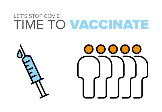 Time to Vaccinate Flyer Layout