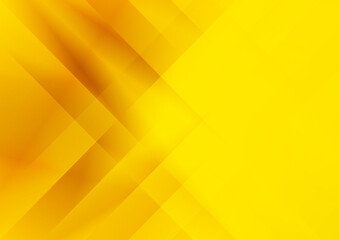 Orange and Yellow Abstract Fractal Stripes Background Vector Graphic Wall mural