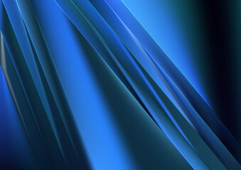 Black and Blue Shiny Diagonal Lines Background Wall mural
