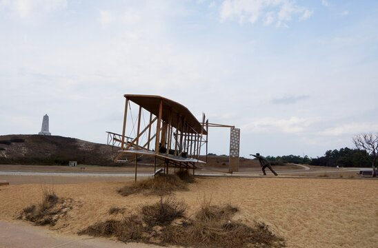 Kill Devil Hills USA - 13 March 2015 - Wright Brothers National Memorial