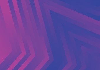 Abstract Pink and Blue Geometric Background Illustration Wall mural
