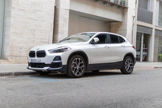 SABADELL, SPAIN-APRIL 6, 2021: BMW X2 (F39) sDrive18i
