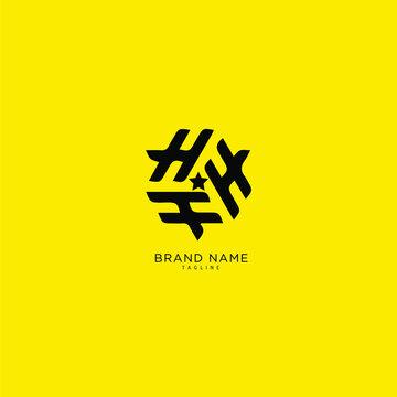Alphabet letter Initial H, HH, logo premium business typeface, minimal, innovative concept, creative, symbol, company, sign, Monogram, vector, startup, template graphic design.