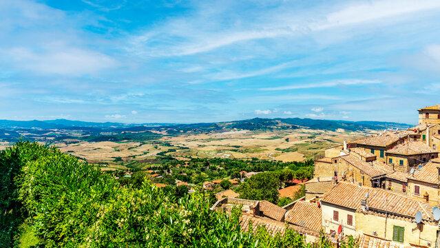 Von Volterra in die Toskana