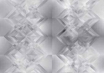 Abstract Light Grey Geometric Background Design Wall mural
