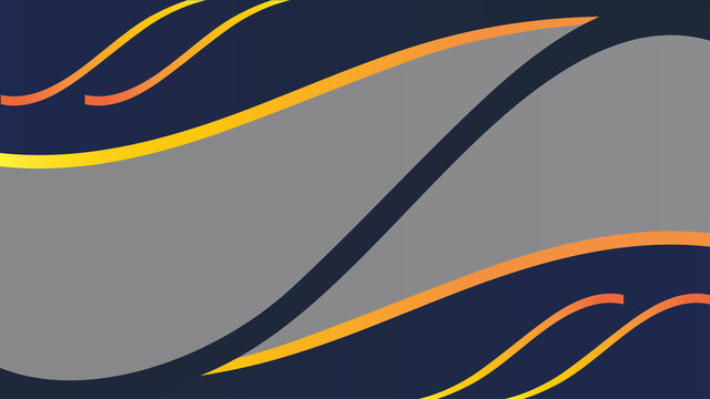 Abstract background, dark blue and yellow shapes