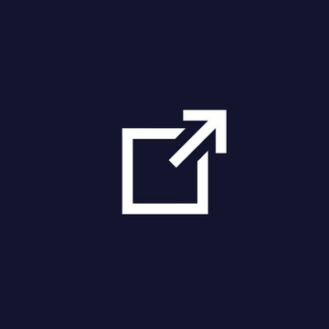 external link vector icon