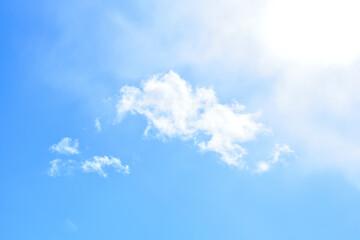 Fototapeta niebo jasno błękitne obraz