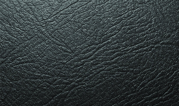 Distressed overlay texture of natural leather, grunge vector background. Black leather texture. Texture of crocodile or snake skin leather.Vector EPS10