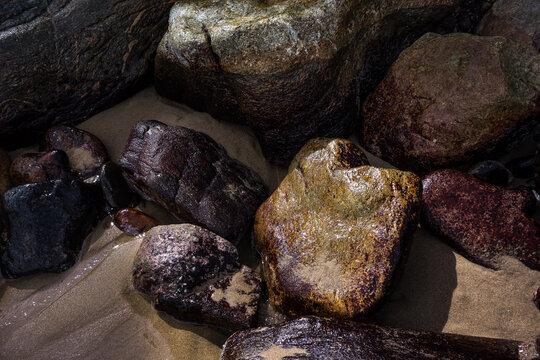 Yelapa, Puerto Vallarta - rocks by the sea