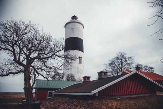 Långe Jan lighthouse on the Swedish island of Öland