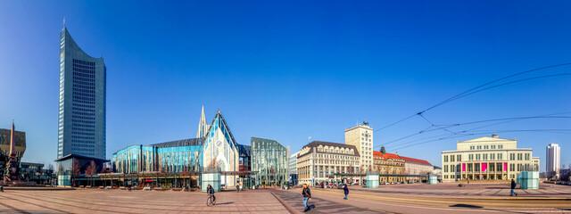 Fototapeta Augustusplatz, Leipzig, Deutschland