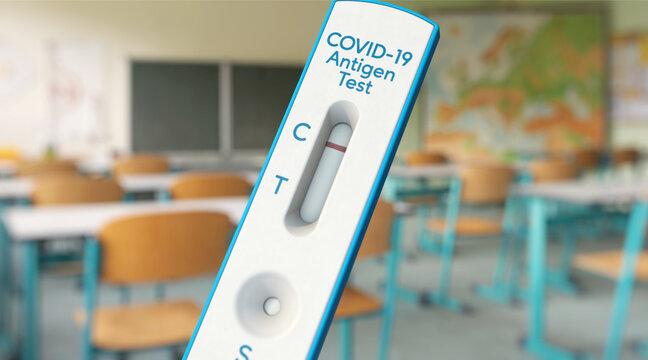 Testpflicht in Schulen