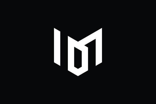 Creative Innovative Initial MD logo and DM logo. MD Letter Minimal luxury Monogram. DM Professional initial design. Premium Business typeface. Alphabet symbol and sign.