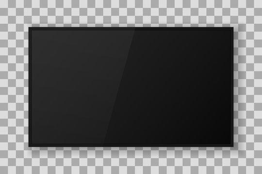 modern tv mockup 3d icon