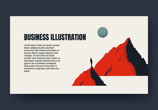 Business Ambition Blog Post Layout