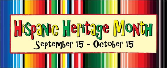 Fototapeta Hispanic Heritage Month with Colorful Blanket obraz