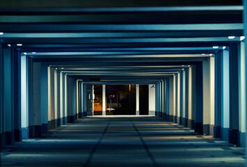 Fototapeta Kolorowy tunel