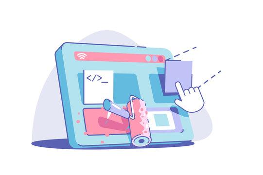 Modern site redesign