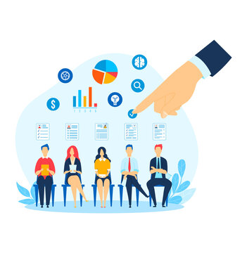 People profile work, reception teamwork, team appealing mobile, business man office, design, flat style vector illustration.