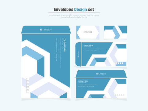 Highly utilized envelope and business card design