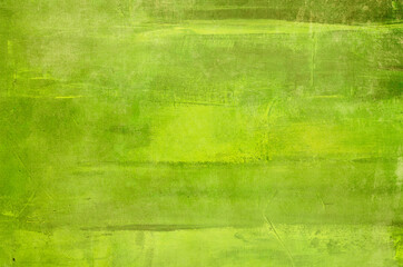 Obraz Abstract green canvas painting background - fototapety do salonu