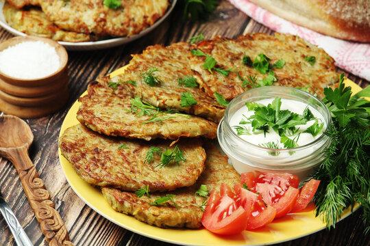 Draniki - a national dish of Belarus
