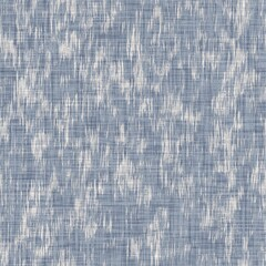 Fototapeta Seamless french farmhouse geo abstract linen printed fabric background. Provence blue gray pattern texture. Shabby chic style woven background. Textile rustic scandi all over print effect. Watercolor.