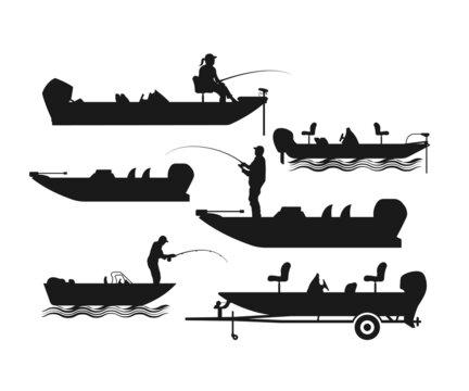 Download 52 485 Best Fishing Boat Vector Images Stock Photos Vectors Adobe Stock