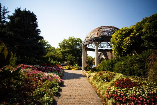 Sunken Gardens Flower Garden In lincoln Nebraska