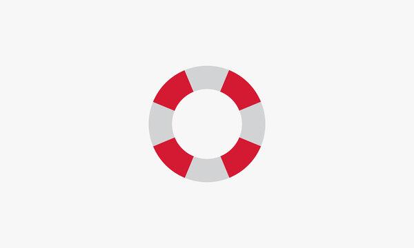 lifebuoy design vector illustration isolated on white background.