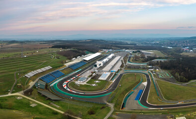 Hungaroring, Official forma 1 race track of Hungary in Mogyorod city. Many motorsport events location