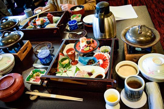 京丹波のお食事処、八光亭にて