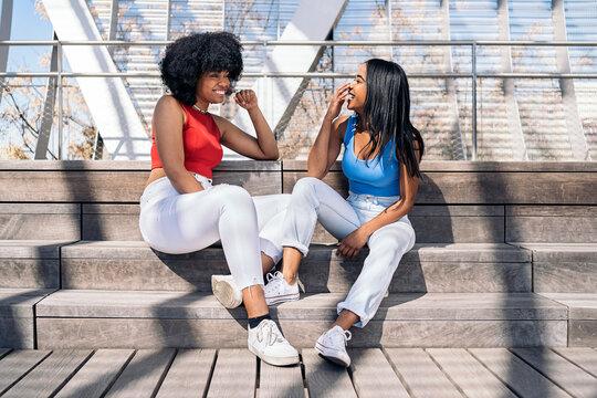 Happy Black Women Portrait