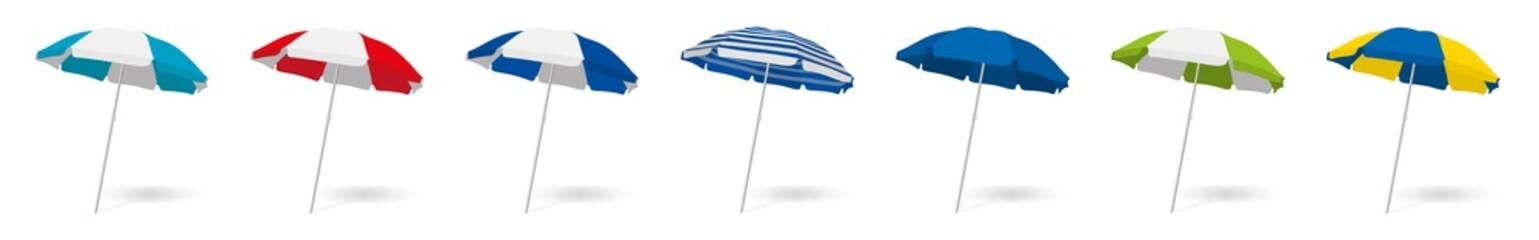 Parasols plage